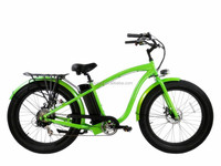 "26"" 750w 1000w 8fun motor 48v samsung battery beach cruiser electric bicycle/electric snow bike/cheap fat tire mountain e-bike"