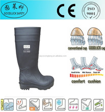 Knee High Boots PVC Rain Boots Safety Boots