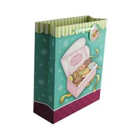 Yiwu factory cheap happy birthday paper gift bag