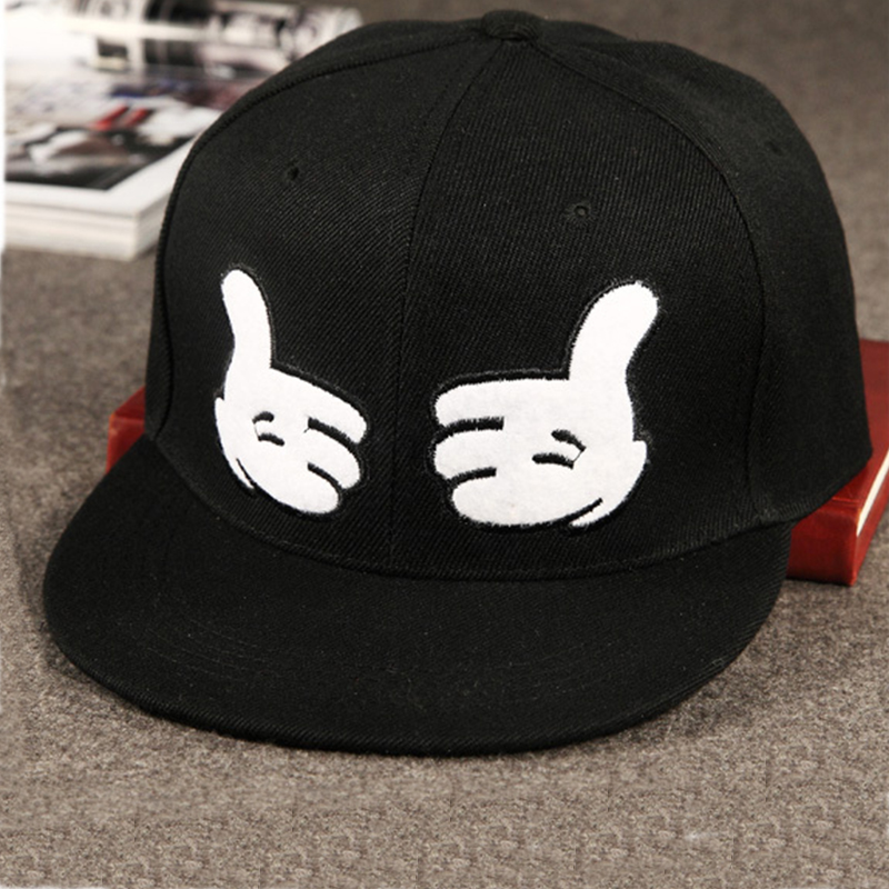 Fashion Solid Finger Snapback Hat Hip Hop Hat Snapback Cap For Men Women Baseball Cap Bone Aba Reta Gorras Planas Free Shipping