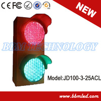 small size red green led indicator traffic light