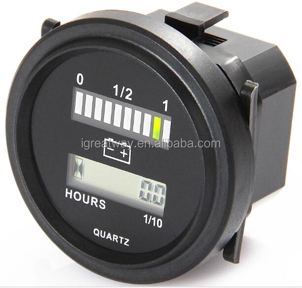7 2 Volt Hour Meters : V battery indicator hour meter buy