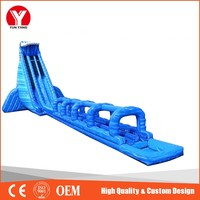Inflatable water slide, hot cheap giant inflatable water slide for adult