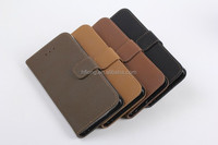 TOp selling ! flip case for iPhone 5 PU leather can hold credit card inside