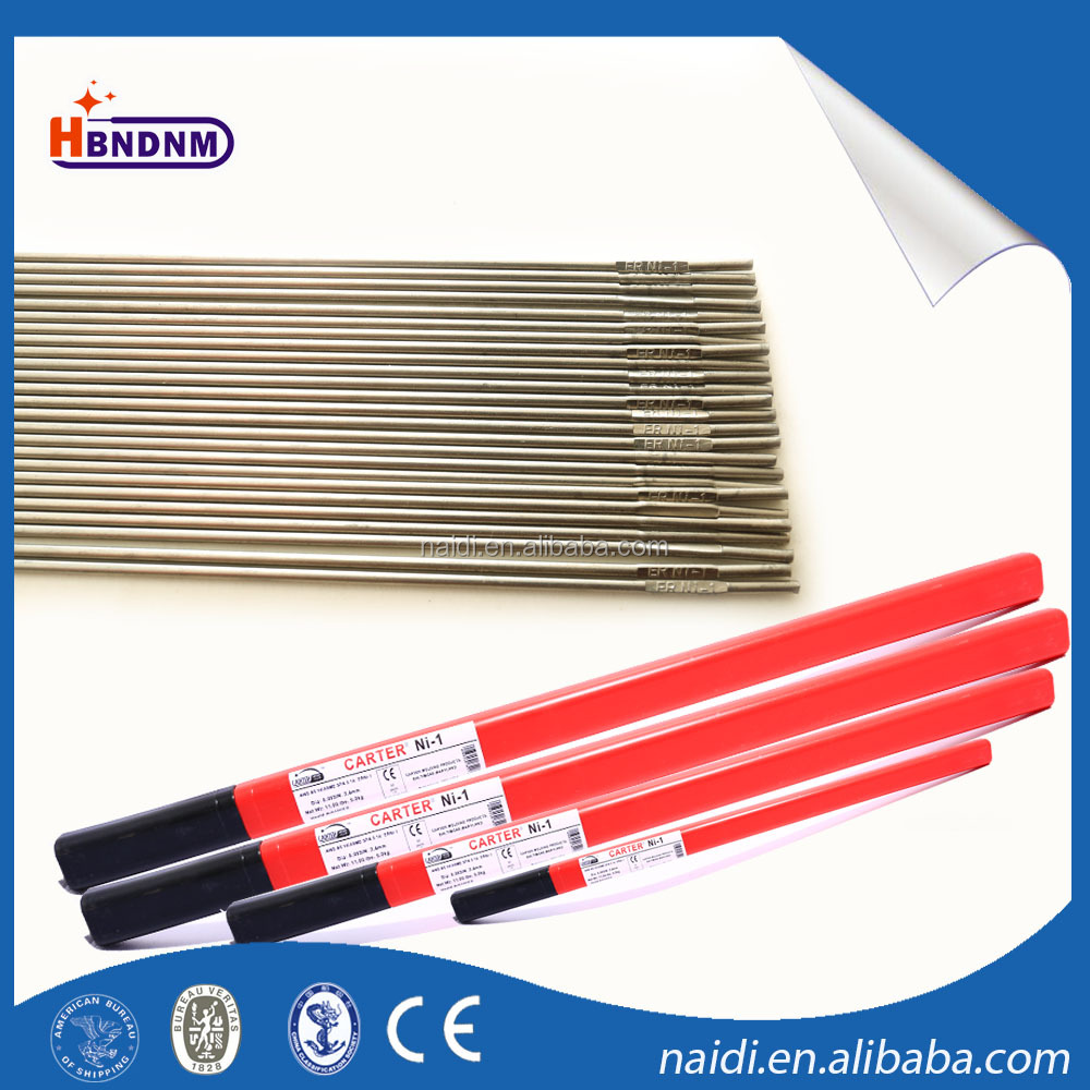 3/32 pure nickel alloy titanium solid wire rod aws a5.14 erni-1 for arc welding
