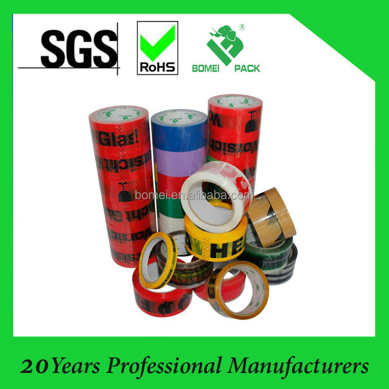 Custom Logo Adhesive Clear OPP Custom BOPP Printing Packing Tape