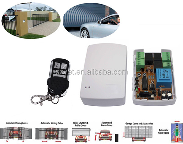 waterproof clone remote control duplicator YET2117433.92mhz for garage door/barrier gate