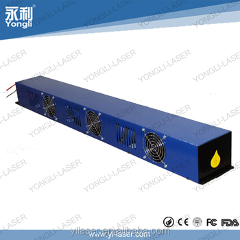 top level reliable quality yongli laser tube co2 50w to 60w