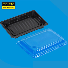 350ml plastic box disposable plastic sushi container for take away