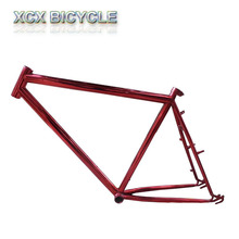 adult steel frame track bike fat mountain bike frame
