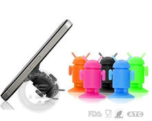 Robot magnetic silicone phone holder