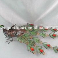 Wholesale Metal Wedding Decoration Peacock