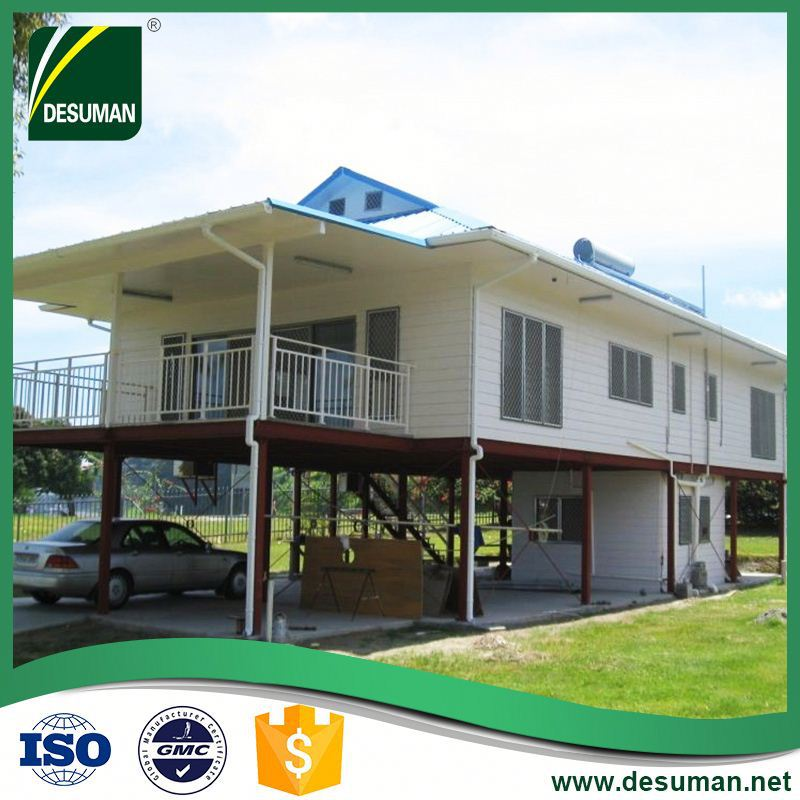 DESUMAN best selling high quality fire proof prefabricated wooden houses romania