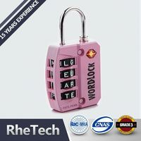 Good Quality Wholesale Price Dial Combination Padlock