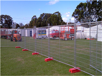 2.4m Australia standard construction site temporary fencing/Perimeter Security Temporary Fence