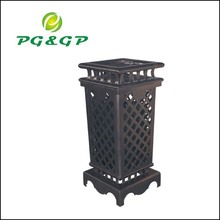 zinc cast garbage container