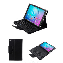 High quality leather table case with wireless bluetooth keyboard for Huawei M2 10.1 M2L