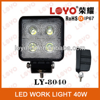 "Discount NEW 4"" 40W Tractor Offroad LED work Light,Working Lamp,Fog Light Kit 9-32V /4x4 off road boat light 12V&24V"