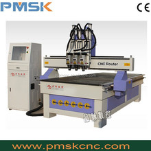 multi spindle drill head 5 axis benchtop cnc mill /wood router with cheap price PMSK 1325