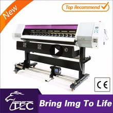 TECJET16x1 cheap xp600 print headprinting machine eco solvent wall sticker printing machine//