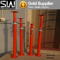 2-4m long adjustable steel props and jacks for floor and roof