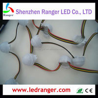 WS2801 3 LEDs Pixel Intelligent WS2801 LED Pixel Module Pixel 0.72W with Clear or Milky Cover