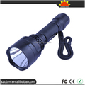 High Quality C8 Q5 LED 1 Mode Red Light Flashlight with 18650 Battery