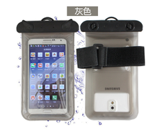 Hot sale clear pvc waterproof mobile phone pouch
