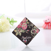 2015 promotional direct sales sexy girl rose scent and unscented air freshener paper for car