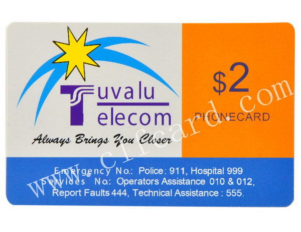 High quality new arrival prepaid refill card