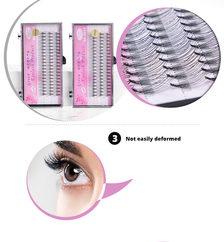 Wholesale Private Label 10 d fan silk eyelash extension