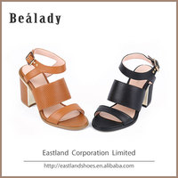 Newest fashion soft high heel 8.5cm sandals matching peach women shoes and bags