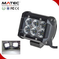Factory Supplier Logging car led work light 18W 12v 24v Spot/Flood