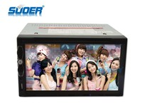 car MP5 player 2 din car GPS radio TV DVD player in car player with bluetooth