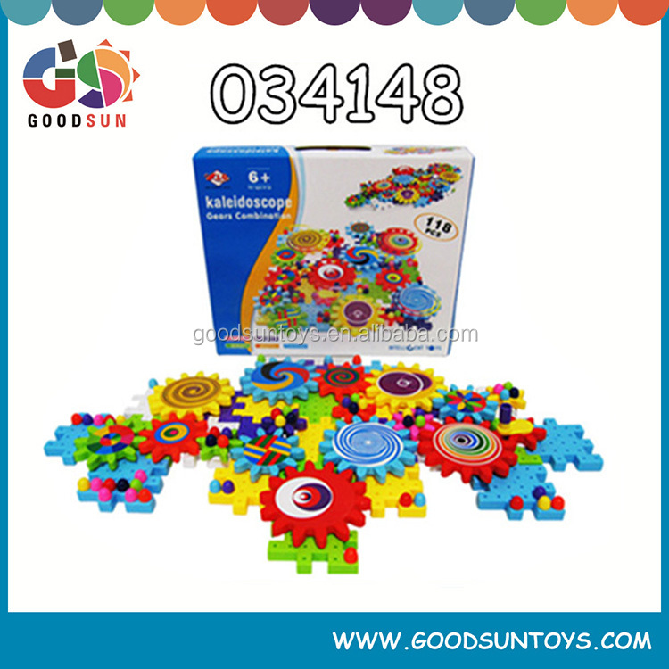 Educational plastic building blocks, new toys for children