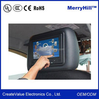 Digital Android 3G 7/ 8/ 9/ 10 Inch LCD Headrest Taxi Touch Screen Advertising