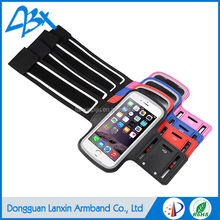 OEM/ODM Outdoor sports elastic durable armband case for iphone 5 5s and iphone SE