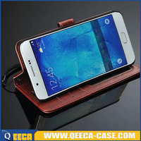 4.8' Premium Crazy Horse Skin PU leather card holder flip wallet leather case folio cover for Samsung Galaxy S3 i9300