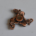 Custom design Brass Copper Metal Stress Relief Hand Spinner