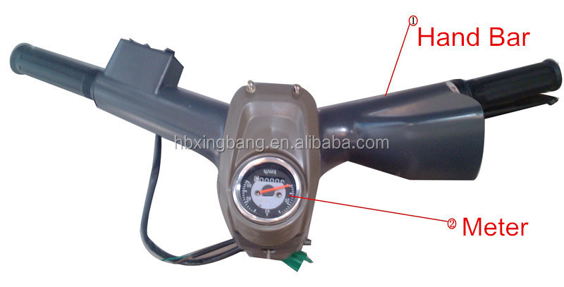 motorized tricycle spare parts/Hand Bar/Meter assembly