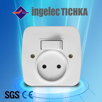 popular french switched socket outlet