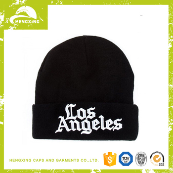 Mens cheap cable cotton jersey beanie