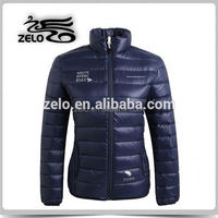 lightweight casual polyester foldable down jacket