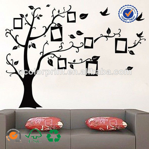 Custom made arbre g n alogique stickers muraux en vinyle - Arbre genealogique stickers ...