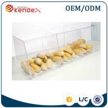 acrylic bakery display cases for food counter sale bakery display stand