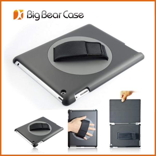 360 rotate hand strap for ipad 2 cover