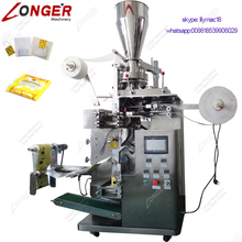 Coffee Herbal Teabag Filter Sachets Pouch Packaging Sealing Machinery Kenya Commercial Used Leaves Herb Tea Bag Packing Machine