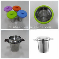 Cheap price stainless steel sink tea strainer with tea sieve