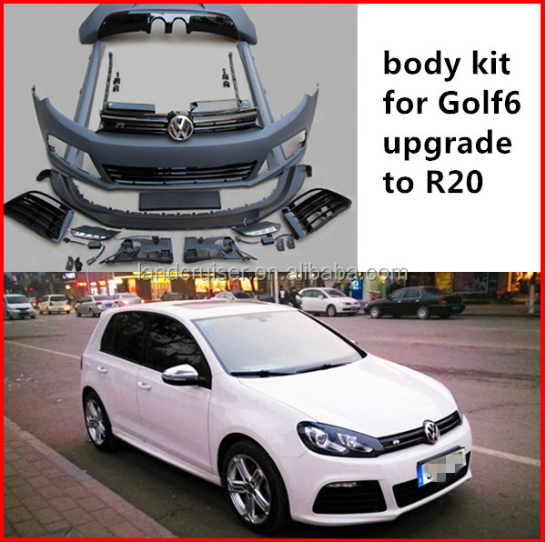 body kit for VW Golf 6 R20 body kit