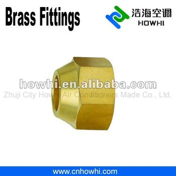 brass pipe fitting, Flare Reducing Nuts, for refrigeration and air conditioning